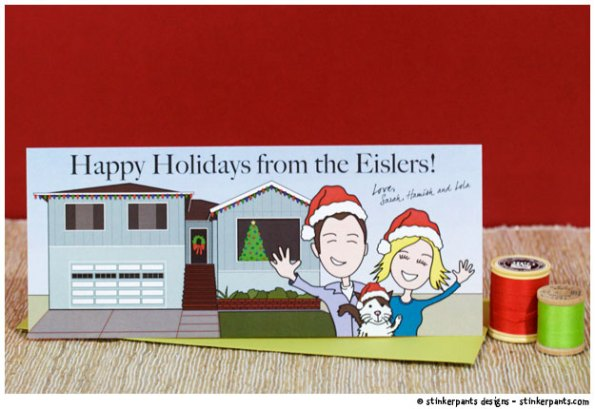 stinkerpants-holiday-cards